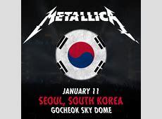 Metallica World Tour 2017 11012017 Seoul South