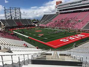 Eccles Seating Chart Rice Eccles Stadium Section N28 Rateyourseats Com