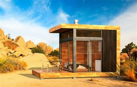 grid cabin greenfab  home eco cabin modular architecture modern shed