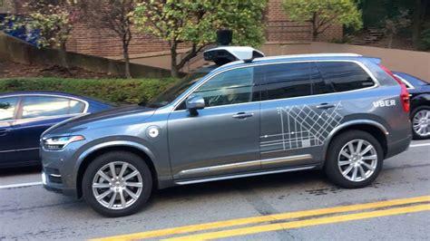 ubervolvo xc autonomous cars  pittsburgh youtube