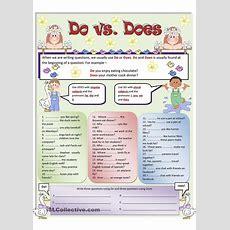 Do Vs Does Worksheet  Free Esl Printable Worksheets Made By Teachers  Slp*language Pinterest