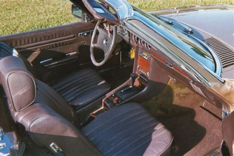 Mercedes replacement carpet kits are made with original german velour carpet. 1983 MERCEDES-BENZ 380SL ROADSTER - 101996