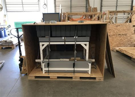 build  custom shipping crate formaspace