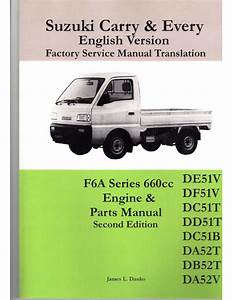 Suzuki Carry Every Factory Wiring Diagram F6a Engine