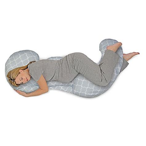 pregnancy pillow bed bath and beyond boppy 174 custom fit total pillow in doves buybuy baby
