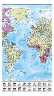 Commonwealth of Nations Map - £16.99 : Cosmographics Ltd