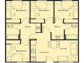 4 bed house plans small 4 bedroom house plans smallest 4 bedroom house
