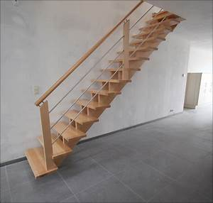 Escalier Droit Bois : mev sprl escalier en bois sur mesure galerie de photos ~ Premium-room.com Idées de Décoration