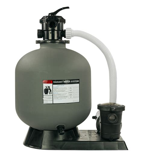 """Radiant 22"""" Inch Above Ground Swimming Pool Sand Filter"""