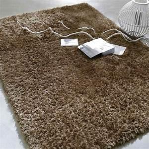 Tapis Long Poil : tapis wilson poil long taupe 160x230 maisons du monde ~ Teatrodelosmanantiales.com Idées de Décoration