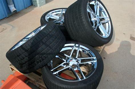 gm oem chrome   zo corvette   wheels rims