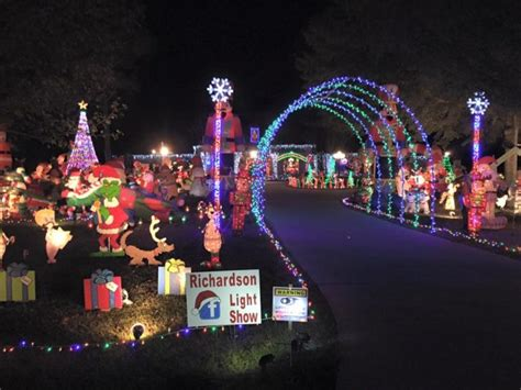 road trip to 10 of the most magical christmas displays in