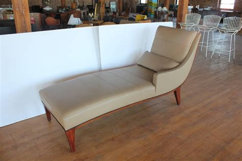 modern leather chaise lounge modern leather chaise lounge by widdicomb for sale at 1stdibs
