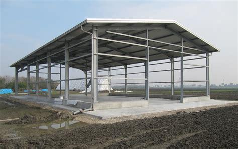 capannone in ferro capannoni per stoccaggio cereali in calcestruzzo lavori