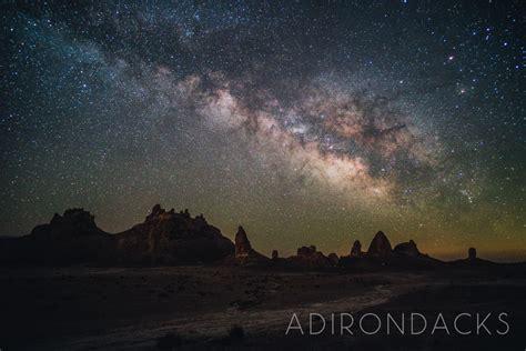 Adirondacks Milky Way Astrophotography Lonely Speck