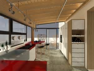 Spostare la cucina sul terrazzo sfruttando il piano casa