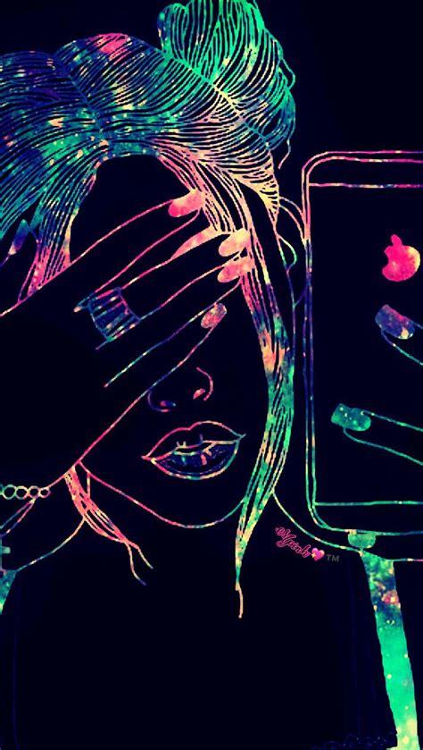 Cool Girl Galaxy Wallpaper Androidwallpaper