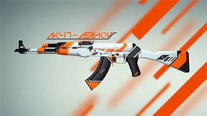Ak Skin Asiimov Gun Counter Steam Strike