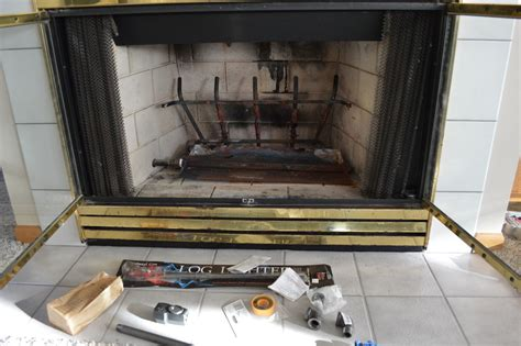 How Much To Convert Wood Burning Fireplace To Gas Convert