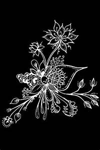 1000 images about Zentangle on Black on Pinterest