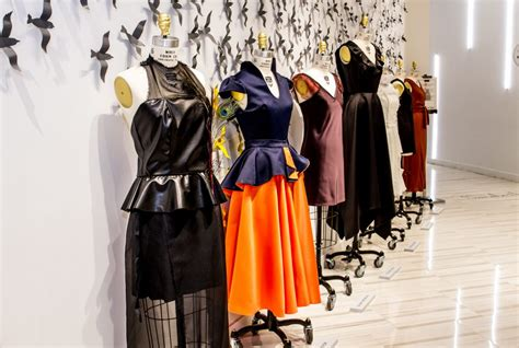 style design college parsons at open cus designers showcase dresses at lord