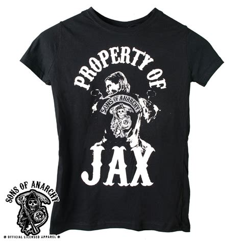 sons of anarchy shirts property of jax shirts official sons of anarchy property of jax shirt
