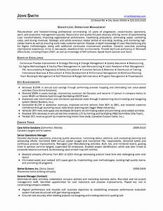 senior operations manager resume sample template With resume consulting services