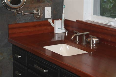 Jatoba (brazilian Cherry) Flat Grain Countertop