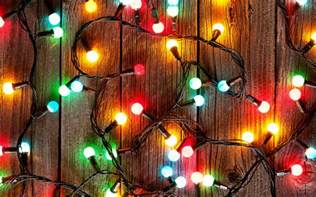 photos lights closeup holidays wood planks 3840x2400