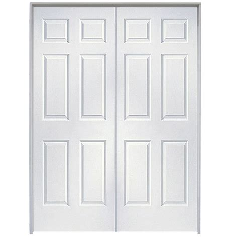 reliabilt prehung hollow core  panel french interior door