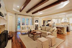 Memorial Hamptons Style - Traditional - Living Room