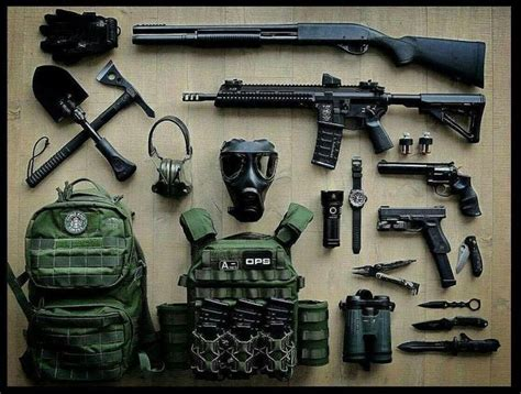 zombie apocalypse guns weapons tactical survival zombies gear firearms
