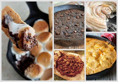 iron skillet desserts 36 knockout cast iron skillet recipes homestead survival