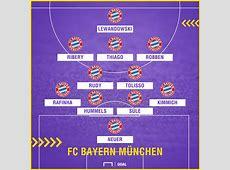 FC Bayern München bei 1899 Hoffenheim Mögliche