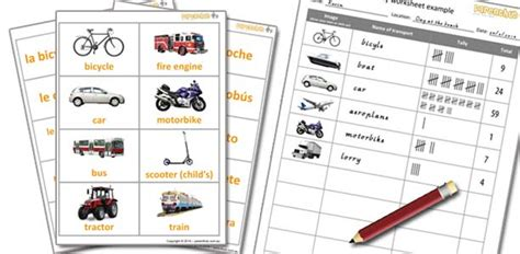 Kids Games With Transport Flashcards Parenthub