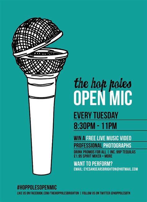 foto de Poster design for The Poles open mic #design #graphics #