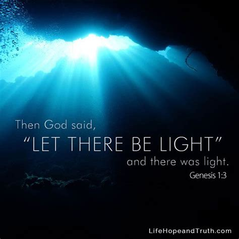 where is let there be light playing in theaters then god said quot let there be light and there was light quot