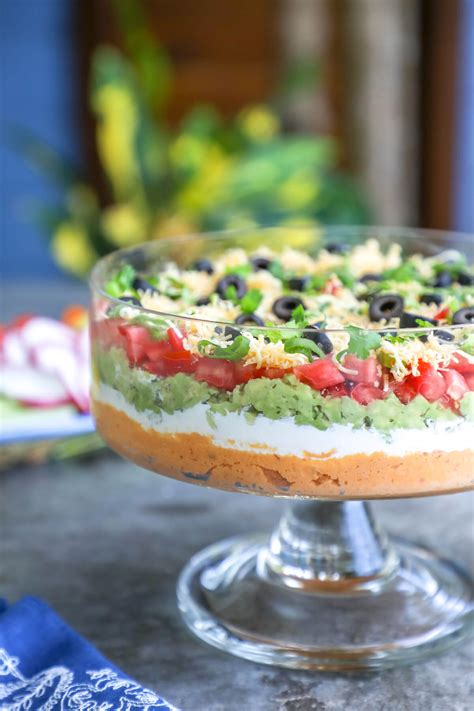 keto mexican  layer dip  carb  breathe im hungry