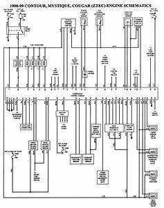 1997 Ford Contour Radio Wiring Diagram