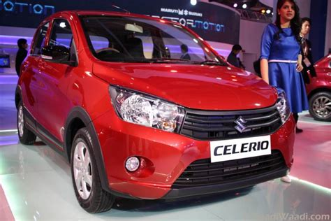maruti suzuki celerio cross debuts    delhi auto