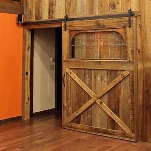Dahkero storage shed door hardware kit for Barn door glides