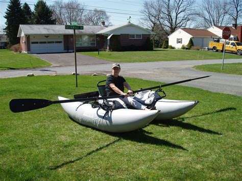 Fly Fishing Inflatable Boat by Inflatable Pontoon Boat Fishing Boat Fly Fishing On Popscreen