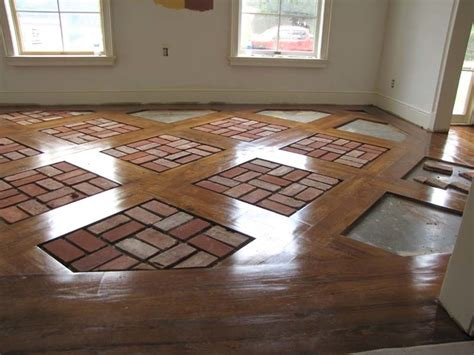 brick kitchen floor tile brick floor tile installation photos acadian brick 4887