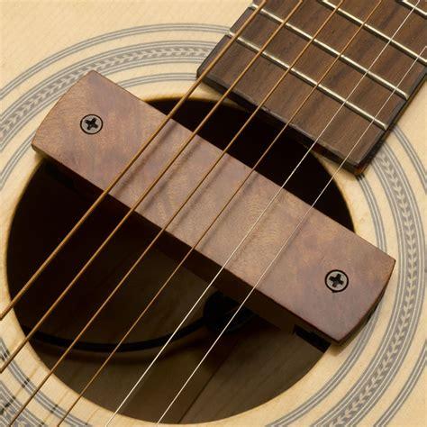 Gfs Curly Rosewood Soundhole Magnetic Pickup For Blender