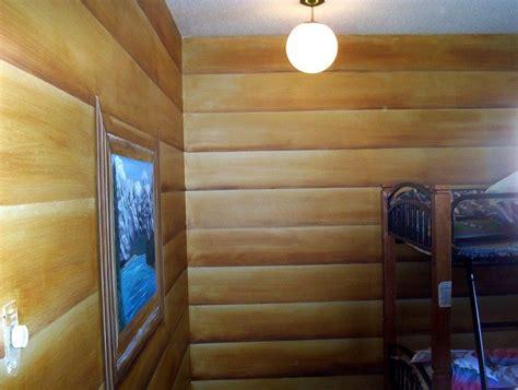 elegant faux log cabin walls  home plans design