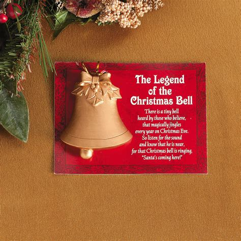 legends christmas ornaments legend of the bell ornaments orientaltrading