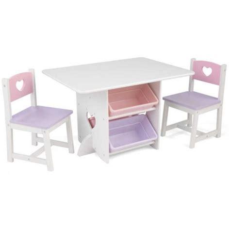 table bureau pas cher kidkraft table chaises et bac rangement enfant en bois