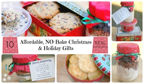 10 affordable no bake christmas and holiday gifts