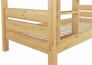 Hochbett Holz 90x200 : etagenbett 90x200 hochbett kiefer natur teilbar rollrost matratzen bettkasten t80 m s2 ~ Frokenaadalensverden.com Haus und Dekorationen
