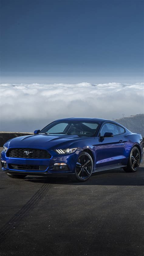 Blue Mustang Wallpaper Iphone by Mustang Ecoboost Wallpaper For Iphone X 8 7 6 Free